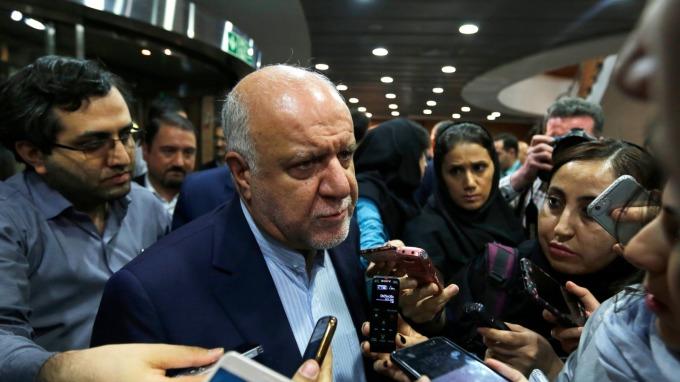 伊朗石油部長 Bijan Zanganeh。(圖:AFP)