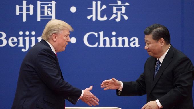 美國總統川普下月將與中國國家主席習近平會面。(圖:AFP)