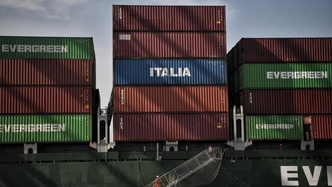 對中國商品加徵稅的衝擊 幾個月前的航運數據即已顯示      (圖:AFP)