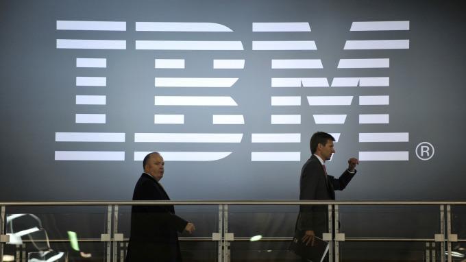 IBM、微軟等巨頭爭搶4000億美元雲端運算「蛋糕」。(圖:AFP)