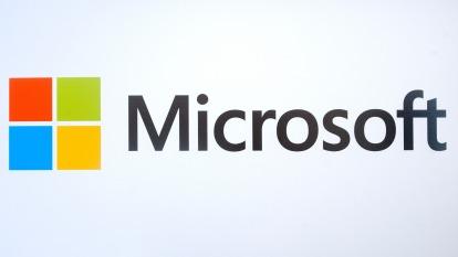 微軟與那斯達克合作開發區塊鏈技術(圖:AFP)