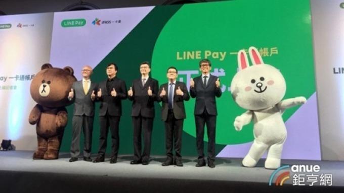 LINE Pay一卡通。(鉅亨網資料照)
