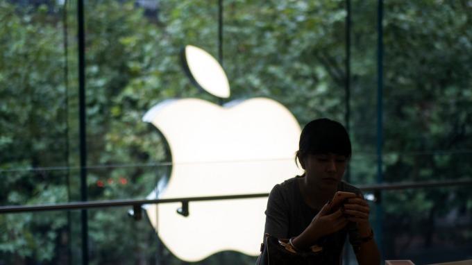十月拋售潮中蘋果災情最小卻慘遭投資公司拋售。(圖:AFP)