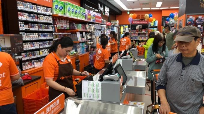 家樂福進駐飯店開便利購超市。(圖:家樂福提供)