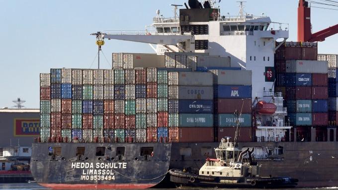 圖:AFP  美國9月貿易赤字再度上升