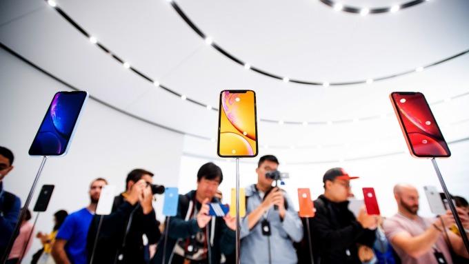 據傳iPhone XR需求不如預期。(圖:AFP)