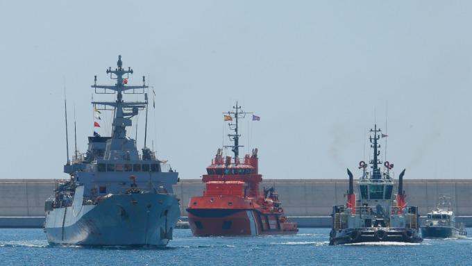 瓦倫西亞港務局加入TradeLens平台。(圖:AFP)