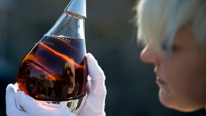 Fusion Whisky運用區塊鏈技術實行威士忌溯源(圖:AFP)