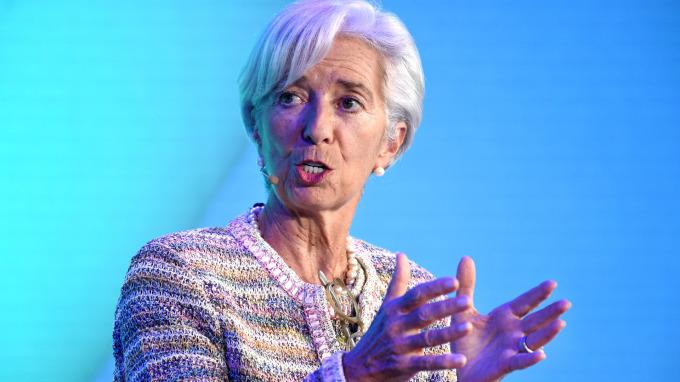 IMF總裁Christine Lagarde(圖:AFP)