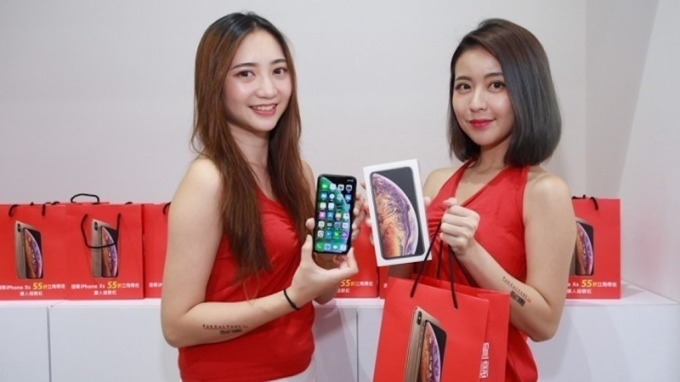 遠傳電信日前開賣iPhone XS系列。(圖:遠傳提供)