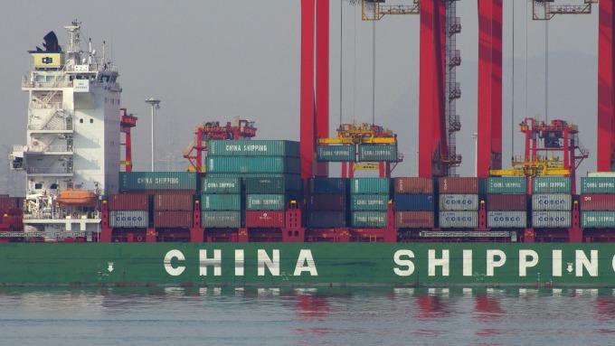 中國10月進出口成長22.9%(圖:AFP)