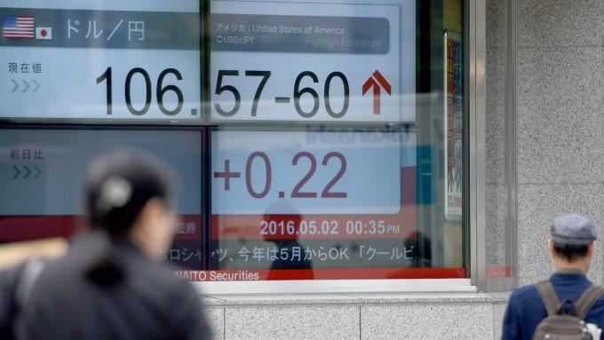 日經收漲。(圖:AFP)
