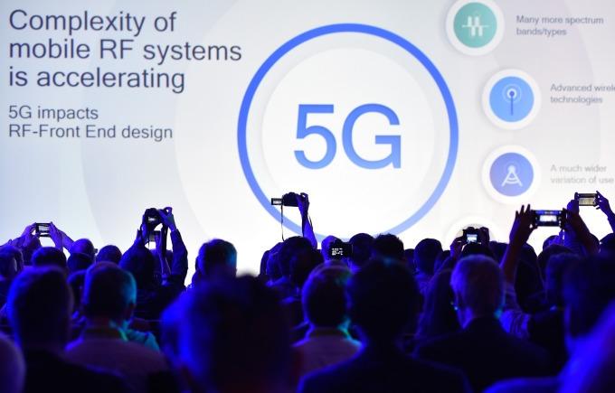 高通是全球 5G 的領導廠商之一。(圖:AFP)