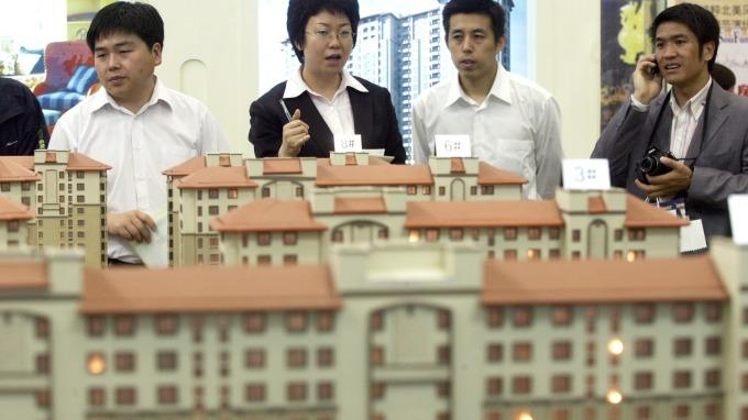 中國空置房產高達五分之一(圖:AFP)