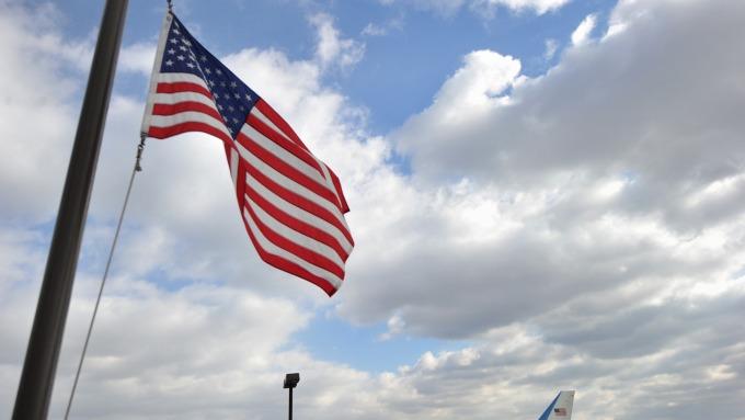 美國對外軍售飆升三分之一。(圖:AFP)