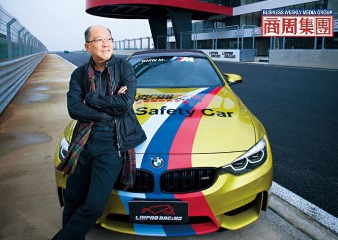 副董陳志鴻幫麗寶挖出賽車財,在今年成立具備FIA會員資格的中華車會後,下一步將引國際級賽事來台。(攝影者.郭涵羚)