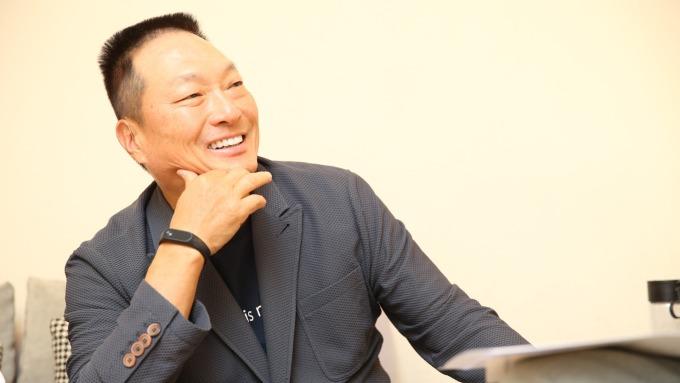東森購物董事長王令麟。(圖:東森購物提供)