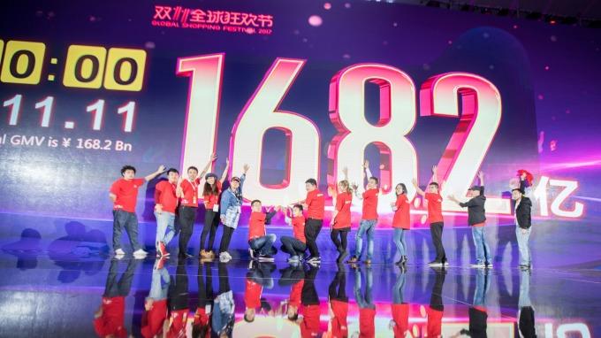 雙十一今年將邁入第十年(圖:AFP)