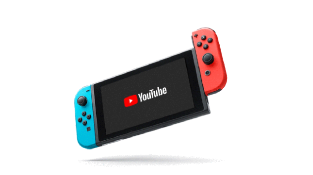 Youtube正式在Switch上架(圖:techcrunch)