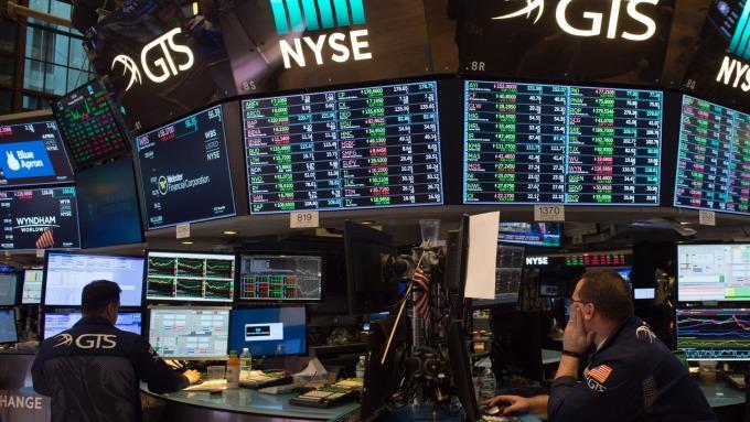 圖:AFP  美國股市可望上漲