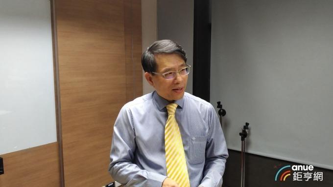 儒鴻財務副總暨發言人羅仁傑。(鉅亨網記者彭昱文攝)