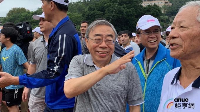 台塑企業總裁王文淵。(鉅亨網記者林薏茹攝)
