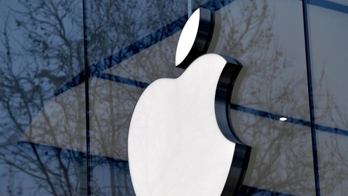 瑞士央行減持美股,拋售100萬股蘋果。(圖:AFP)