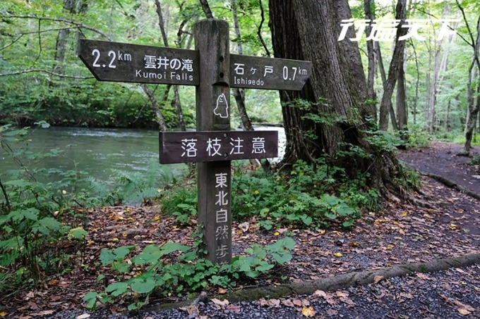 十和田路標