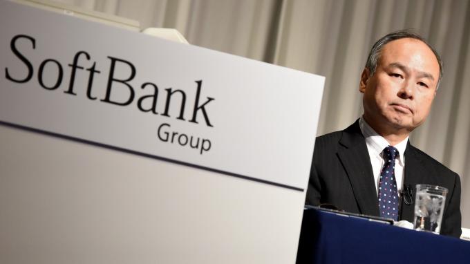 軟銀行動業務擬募資金額超過200億美元。(圖:AFP)