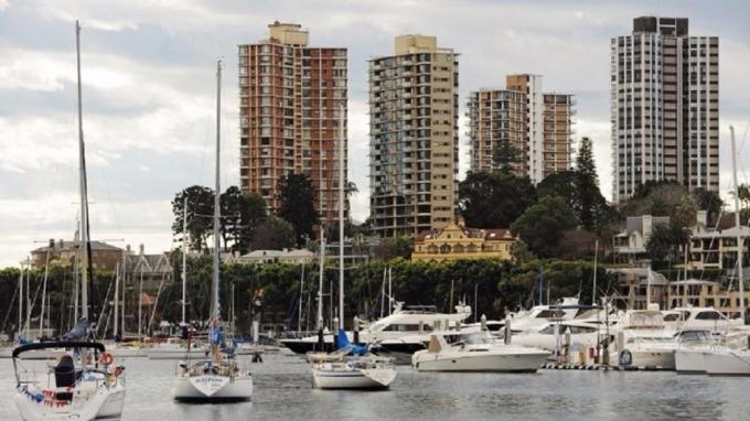瑞銀看衰澳洲房市崩跌30%。(圖:AFP)