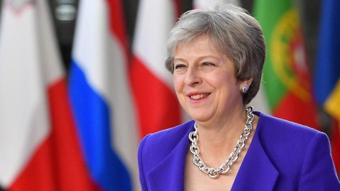 英國首相梅伊 (Theresa May)  (圖:AFP)