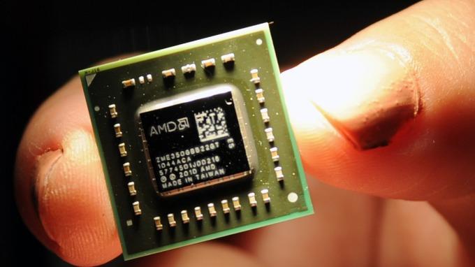 晶片業成長放緩。(圖:AFP)