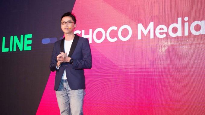 巧克科技新媒體執行長劉于遜。(圖:LINE提供)