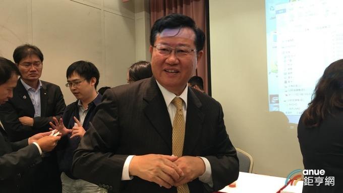 車王電董事長蔡裕慶。(鉅亨網記者王莞甯攝)