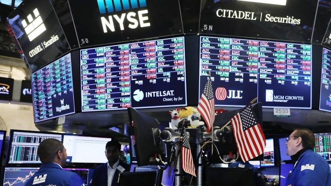圖:AFP  美國股市恐已進入空頭市場