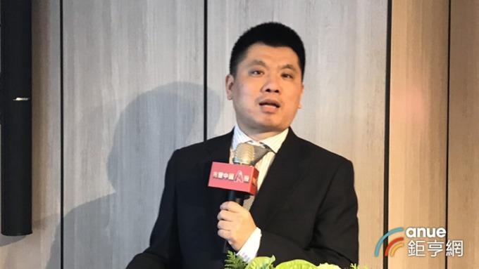 兆豐國際投信今(21)日舉行中國經濟投資展望記者會,中國嘉實基金機構投資部投資經理李濤主講。(鉅亨網記者陳慧菱攝)