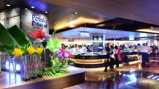 漢來海港餐廳高雄巨蛋店。(圖:漢來美食提供)