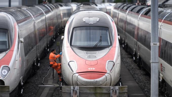 瑞士聯邦鐵路推區塊鏈ID管理系統 (圖:AFP)