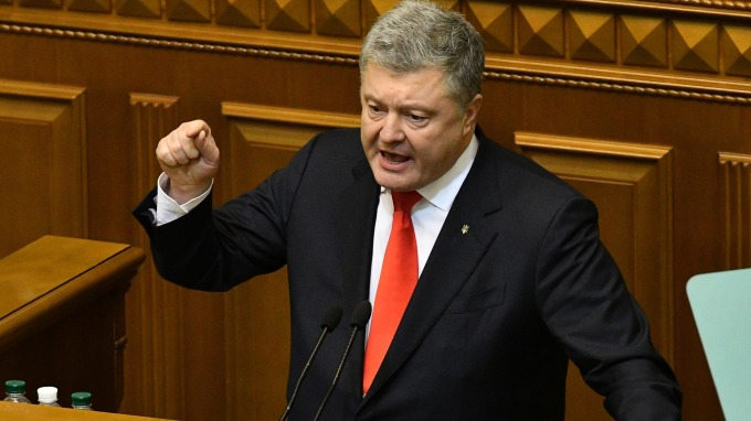 圖:AFP  烏克蘭總統波洛申科