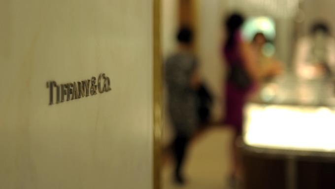 Tiffany業績不佳股價大跌。(圖:AFP)