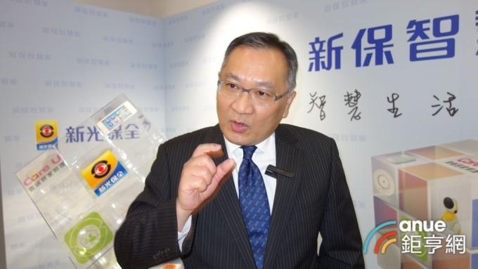 新保總經理洪國超。(鉅亨網記者張欽發攝)