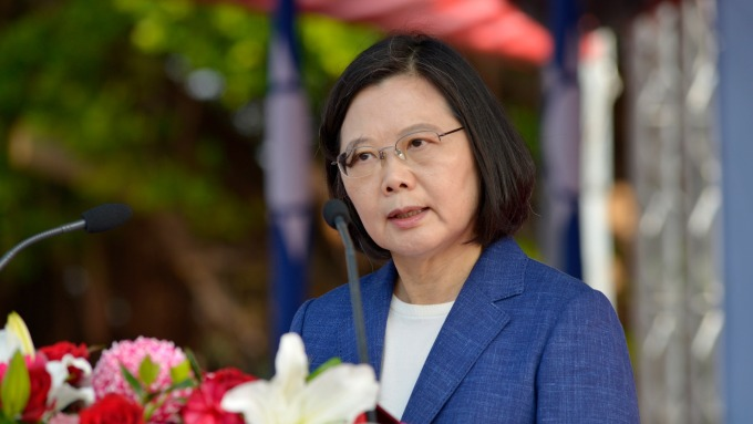 President Tsai told that Taiwan is the best for developing medical industry.