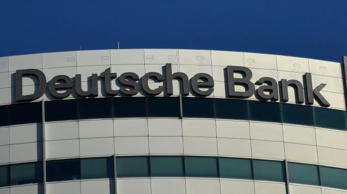 圖:AFP  德意志銀行