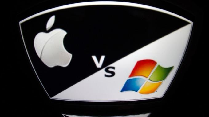 微軟雖登市值龍頭 分析師:別急著賣蘋果      (圖:AFP)