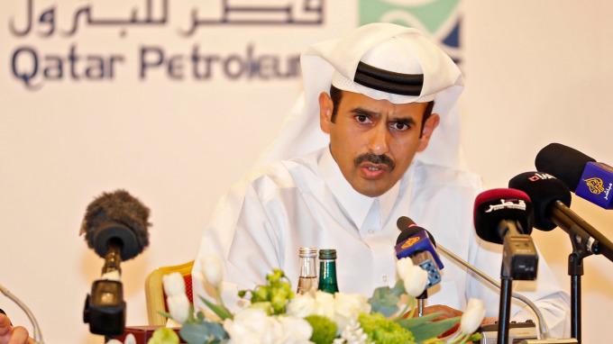 卡達能源部長Saad al-Kaabi(圖:AFP)