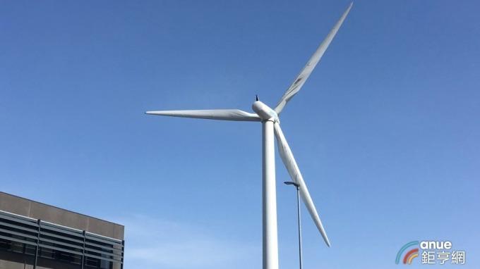 西門子歌美颯位於丹麥廠區的風機。(鉅亨網資料照)