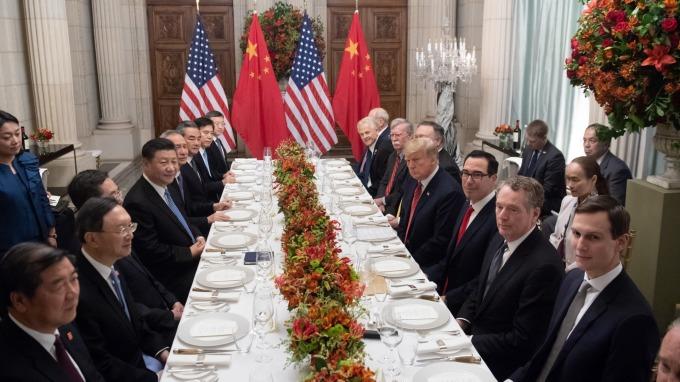 中美元首會晤(圖:AFP)