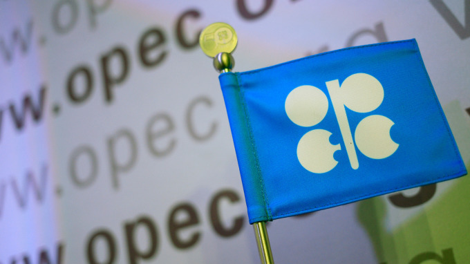 OPEC Logo(圖:AFP)