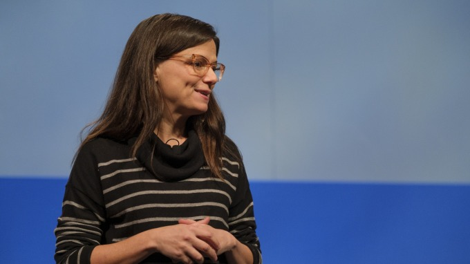 微軟財務長 Amy Hood      (圖:AFP)