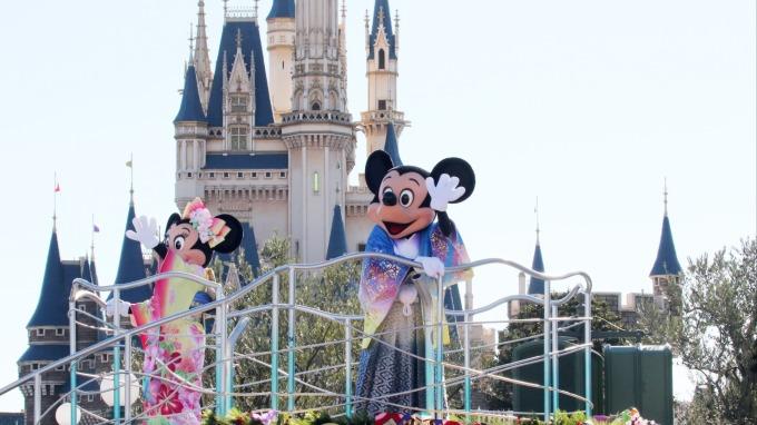 東京迪士尼樂園 (圖片來源:AFP)